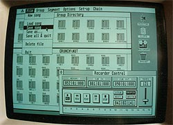 Atari Iconix Sequencer - used from 1990 - 2000