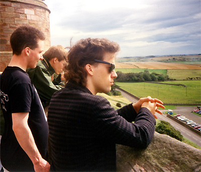 On a castle - 1991
