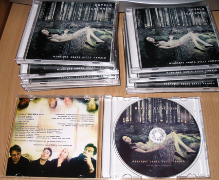 Dayglo Fishermen -  Packaged CDs for 'Midnight Souls Still Remain'