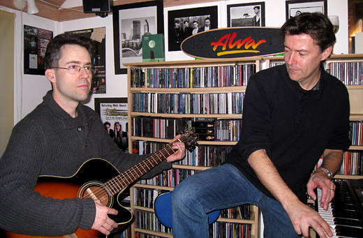 Peter and Richard - Cozmic Studios February, 2014